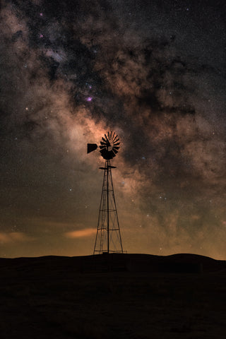 BLM Old Windmill