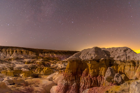 The Glow at Paint Mines