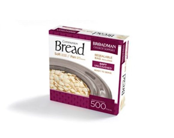 Communion -Bread Soft (Unleavened) - Pack Of 500