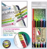 Highlighter-Bible Study Starter Set-Rainbow Tabs