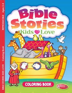 Bible Stories Kids Love: Coloring Book