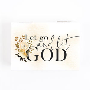 Let Go And Let God Prayer Box