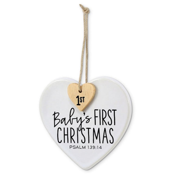 Ornament - Baby's First Christmas