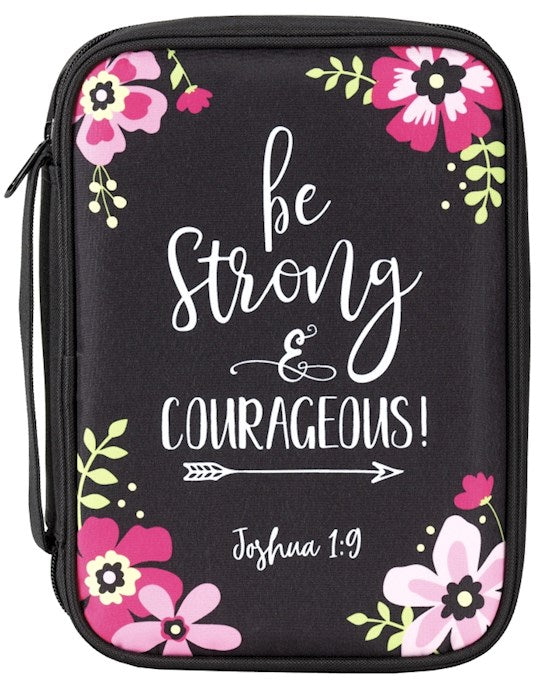 Bible Cover - Be Strong XL