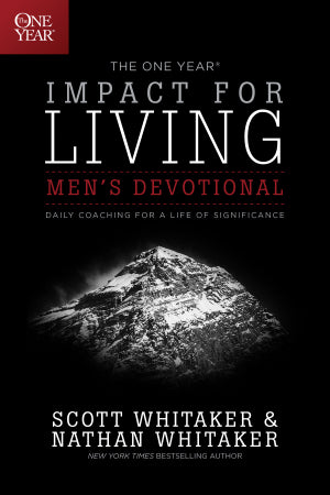 One Year Impact For Living Men's Devotional: A Daily Guide To Living A Life Of Significance