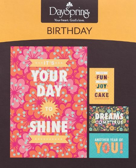 Birthday-Joy Boxed Greeting Cards