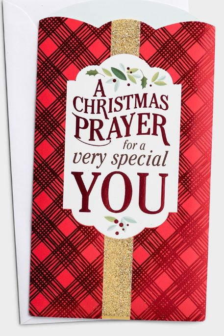 Boxed Cards - A Christmas Prayer Money/Gift Card Holders