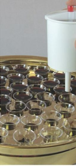 Communion-Cup Filler (Button Release)