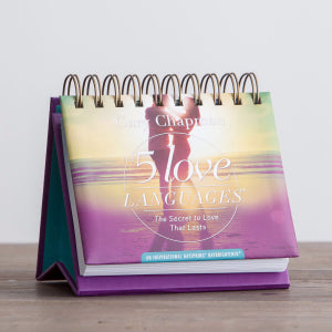 Marriage/Wedding Gift Calendar-5 Love Languages