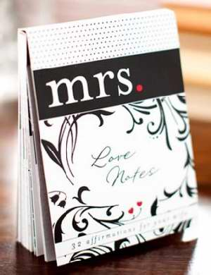 Mrs. Love Notes: 32 Affirmations For Your Wife