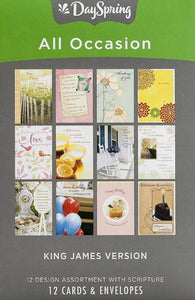 KJV All Occasion Variety- Box of Greeting Cards