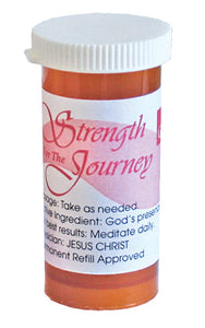 Prescriptures Bottle- Strength for the Journey