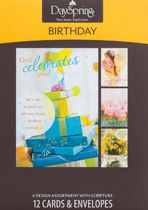 Sweet Blessings Birthday Boxed Greeting Cards