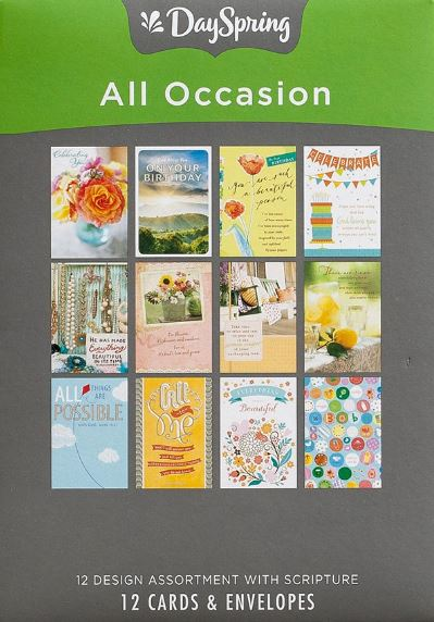 All Occasion Variety of Blessings- Box Of Cards