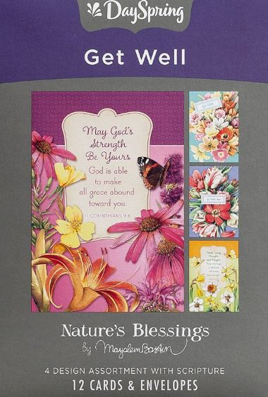 Get Well Box Of Greeting Cards - Marjolein Bastin
