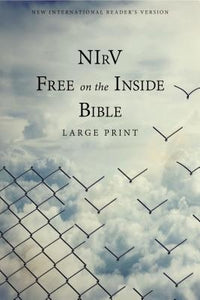 NIRV, Free on the Inside Bible, Large Print, Paperback by Zondervan