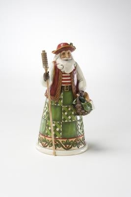 Italian Santa Figurine by Enesco