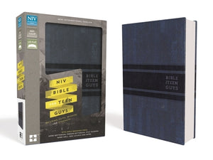 NIV, Bible for Teen Guys, Leathersoft, Blue: Building Faith, Wisdom and Strength by Zondervan
