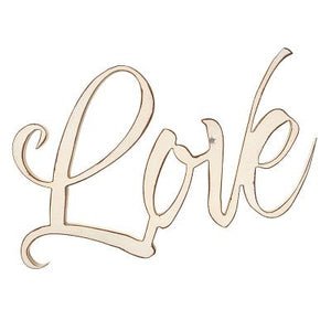 Wall Art Script Love Wall Art Script Love by Christian Art Gifts