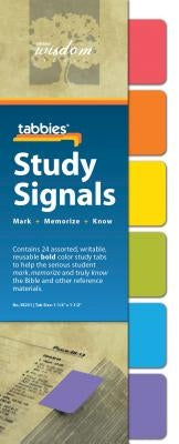 Tabbies Study Signals - Bold: Bold Study Signals by Tabbies