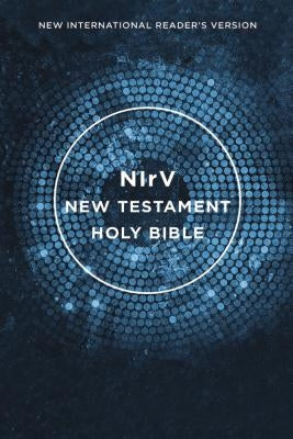 NIRV, Outreach New Testament, Paperback, Blue by Zondervan