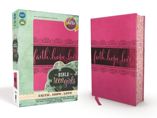 Bible for Teen Girls-NIV: Growing in Faith, Hope, and Love by Zondervan
