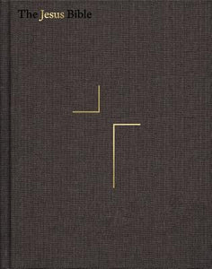 The Jesus Bible, ESV Edition, Cloth Over Board, Grey by Passion