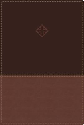 Amplified Study Bible, Imitation Leather, Brown, Indexed by Zondervan