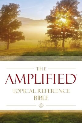 Amplified Topical Reference Bible, Hardcover by Zondervan