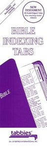 Bible Tabs - Gold Edged - NT O: Large Print Bible Tabs by Tabbies