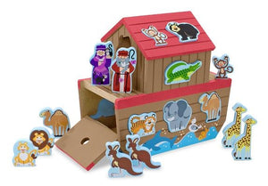 Noahs Ark Wooden Shape Sorter by Melissa & Doug