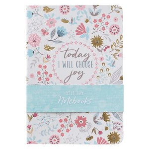 Notebook Set Choose Joy Notebook Set Choose Joy by Christian Art Gifts