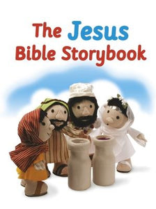 The Jesus Bible Storybook: Adapted from the Big Bible Storybook by Barfield, Maggie