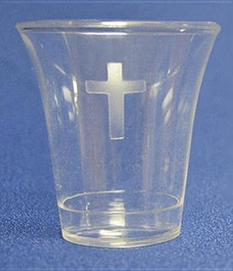 Swanson Communion Cups Clear 1 3/8 200 CT by Swanson Christian Products