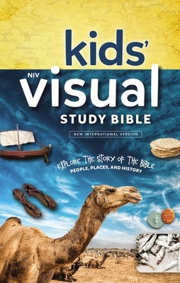 NIV, Kids' Visual Study Bible, Hardcover, Blue, Full Color Interior: Explore the Story of the Bible---People, Places, and History by Zondervan