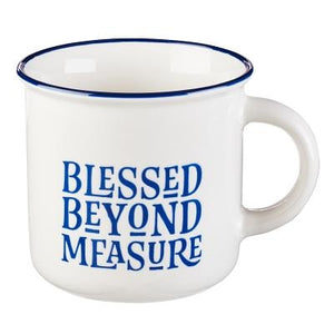 Mug Camp Blessed Beyond Measure Mug Camp Blessed Beyond Measure by Christian Art Gifts