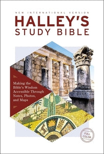 Niv, Halley's Study Bible, Hardcover, Red Letter Edition, Comfort Print: Making the Bible's Wisdom Accessible Through Notes, Photos, and Maps by Halley, Henry H.