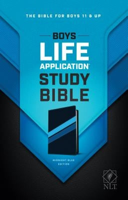 Boys Life Application Study Bible NLT, Tutone by Tyndale