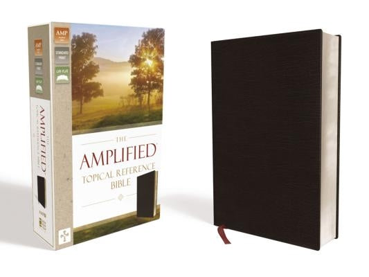 Amplified Topical Reference Bible, Bonded Leather, Black by Zondervan