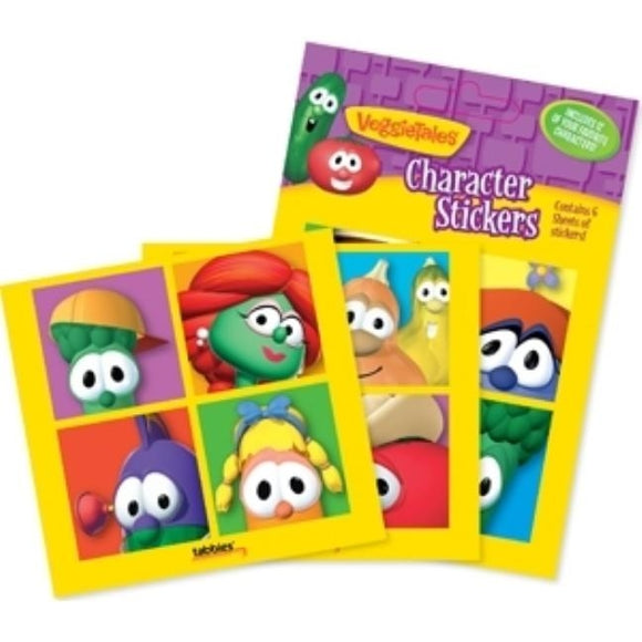 Veggietale Character Stickers: Veggietales(r) Character Stickers by Tabbies