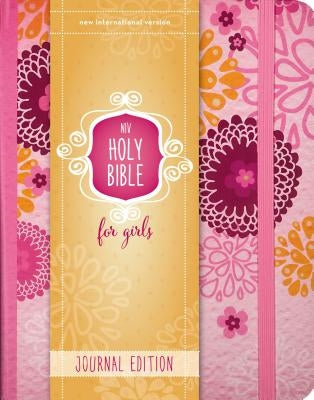 NIV, Holy Bible for Girls, Journal Edition, Hardcover, Pink, Elastic Closure by Zondervan