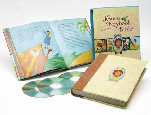 The Jesus Storybook Bible Deluxe Edition: With CDs [With Read Along] by Lloyd-Jones, Sally