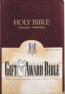 Gift & Award Bible-KJV by Holman Bible Staff