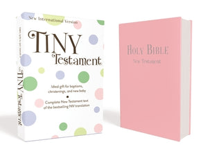 Tiny Testament Bible-NIV by Zonderkidz