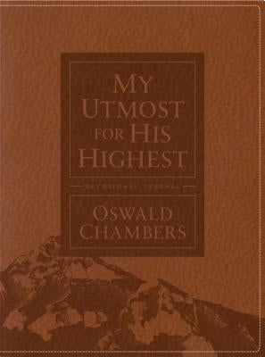 My Utmost for His Highest Devotional Journal by Chambers, Oswald