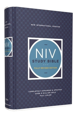 NIV Study Bible, Fully Revised Edition, Hardcover, Red Letter, Comfort Print by Barker, Kenneth L.