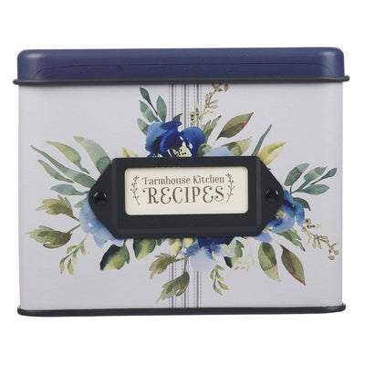 Recipe Tin Metal Love Joy Grace by Christian Art Gifts
