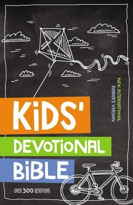 Nirv, Kids' Devotional Bible, Hardcover: Over 300 Devotions by Zondervan