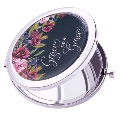 Mirror Compact Grace Upon Grace by Christian Art Gifts