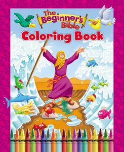 The Beginner's Bible Coloring Book by Zondervan